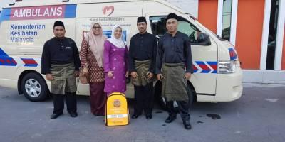 Medical Team Standby Istiadat Pertabalan