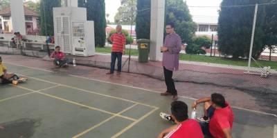 Sesi Latihan Team Futsal Caw Negeri Johor