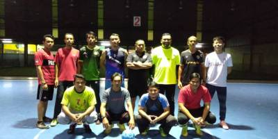 Persiapan Menjelang Pertandingan Futsal