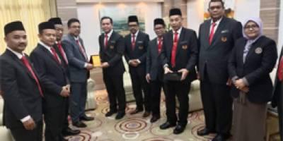 Kunjungan Hormat presiden cuepacs ke melaka